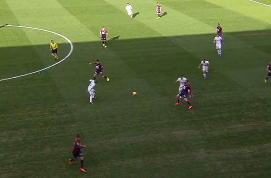 CUADROxCUADRO del gol de James Rodríguez con el Real Madrid