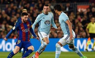 Barcelona vapuleó 5-0 a Celta de Vigo por la Liga Santander
