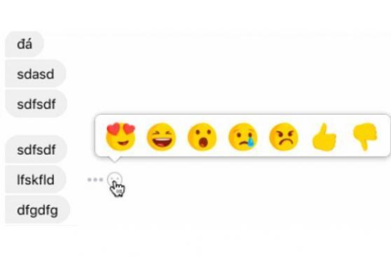 Facebook está probando el botón 'no me gusta' en mensajes