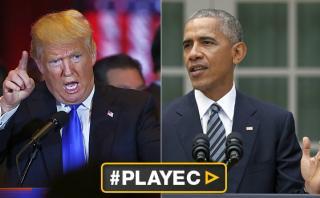 """Trump: """"Obama interceptó mis teléfonos durante la campaña"""""""