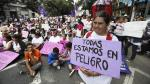 Mujeres protestan en Buenos Aires contra la violencia de género - Noticias de violencia domestica