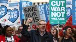 Londres: Protesta contra recortes en el sector salud británico - Noticias de jeremy hammond