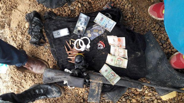 En los últimos días de febrero, un grupo de policías incursionó en el sector conocido como el Quemadero, en La Pampa. Fueron hallados los restos de al menos 20 personas asesinadas. (Foto: PNP).