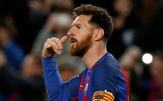 Lionel Messi realizó curiosa celebración por este motivo