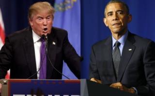 Donald Trump pide al Congreso investigar a Barack Obama