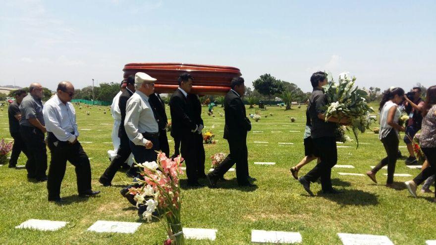 Restos de José Yactayo descansarán en el cementerio de Lurín