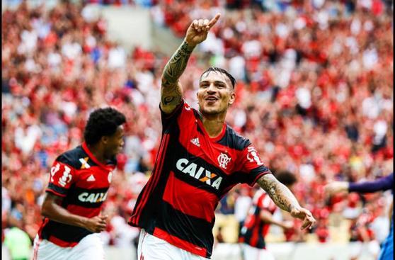 CUADROxCUADRO del golazo de tiro libre de Guerrero con Flamengo