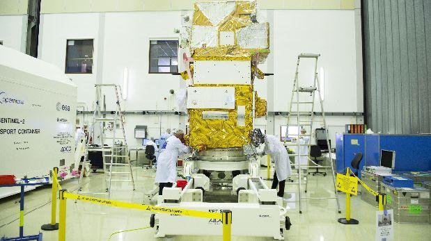 La ESA afirma que tiene todo listo para lanzar el Sentinel-2B