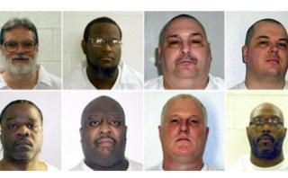 EE.UU.: Arkansas ejecutará a ocho presos en 10 días