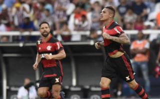 Guerrero y Trauco: así los vio prensa brasileña ante Fluminense