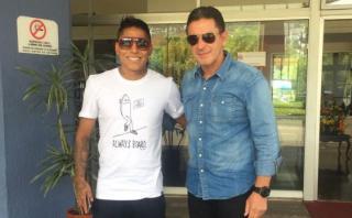 Selección: Raúl Ruidíaz y Andy Polo recibieron visita de Santín