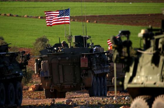 Un convoy militar de Estados Unidos entra al norte de Siria