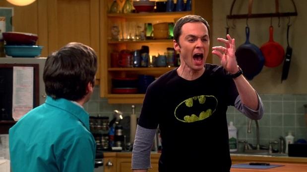 Sheldon en una escena de