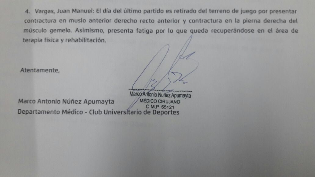 (Foto: Universitario de Deportes)