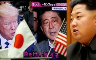 """Abe y Trump responden al """"acto provocador"""" de Corea del Norte"""