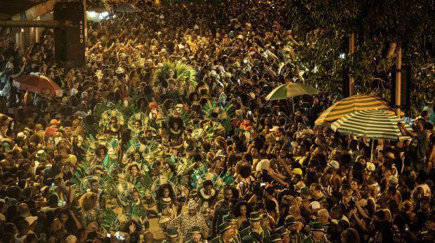 Carnaval de Río de Janeiro batió récord de asistencia