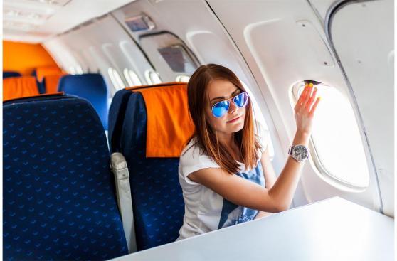 """La """"etiqueta"""" cuando quieres cambiar de asiento en un avión"""