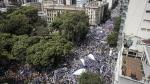 Argentina: Profesores exigen mejores sueldos en huelga nacional - Noticias de mauricio macri