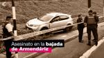 Crimen en Armendáriz: víctima tenía antecedentes [VIDEO] - Noticias de autos usados