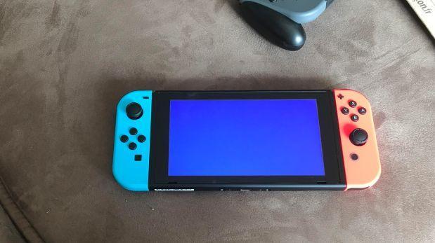 """El primer """"pantallazo azul de la muerte"""" de Nintendo Switch"""