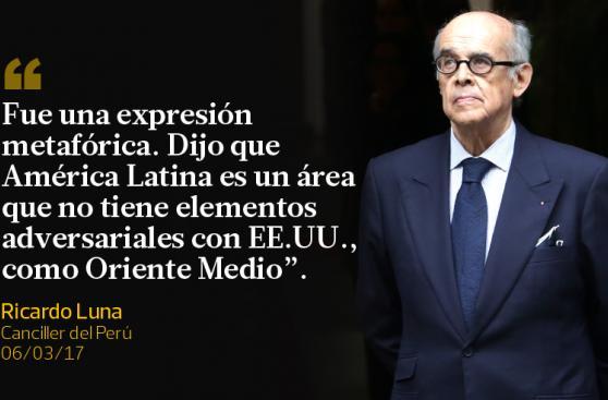 La reciente tensión entre Perú y Venezuela [FRASES]