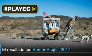Conozca la monumental barrera entre Estados Unidos y México