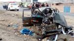 La Libertad: triple choque deja dos muertos y unos ocho heridos - Noticias de cartavio