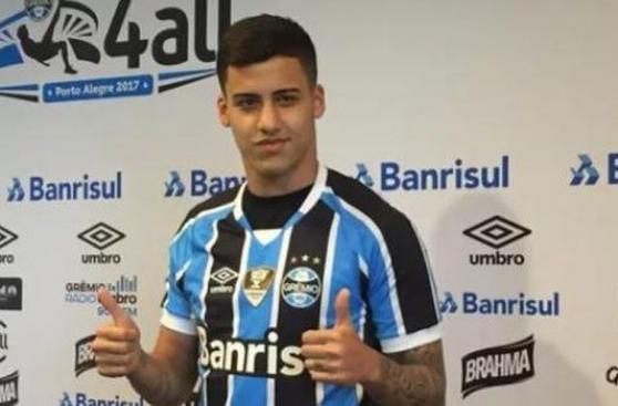 Da Silva incluido entre los jóvenes talentos de la Libertadores