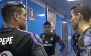 Cristiano Ronaldo: así le reclamó a la defensa en la Champions