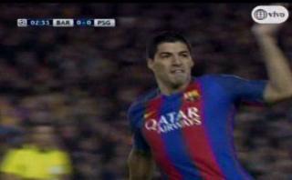 Barcelona: Luis Suárez y el gol que dio inicio a remontada