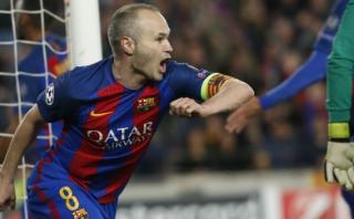 Barcelona: el lujo de Andrés Iniesta que originó autogol de PSG