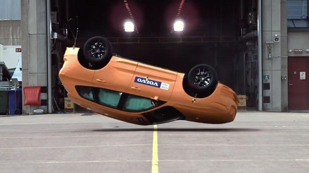 ¿Cómo el nuevo auto XC60 resiste a los choques más duros?