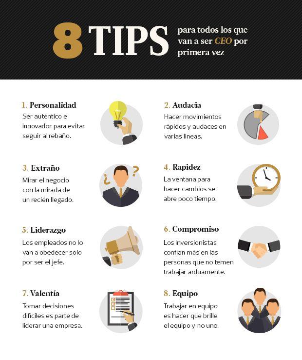 8 tips para todos los que van a ser CEO por primera vez