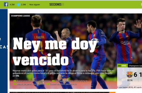 Barcelona: así habla la prensa mundial sobre la remontada