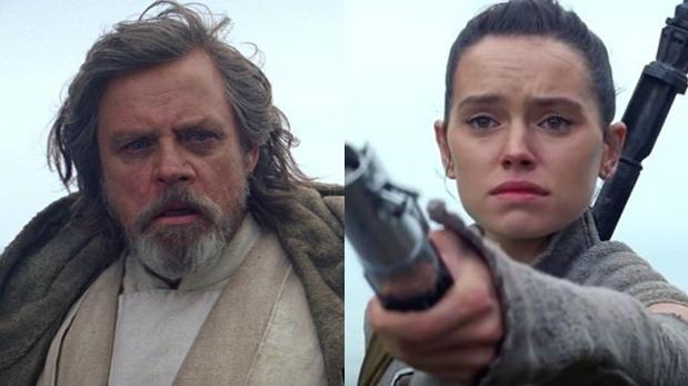 """Star Wars"": revelan qué le dijo Luke Skywalker a Rey"