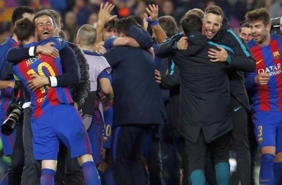 Barcelona: euforia y delirio de culés tras goleada histórica