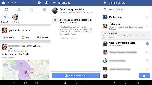 Facebook quiere que sus usuarios envíen más videos efímeros