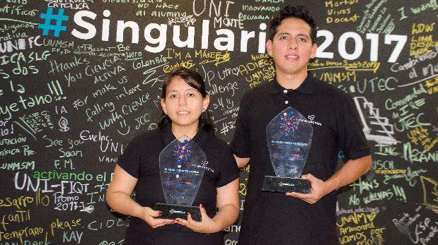 Dos jóvenes representarán al Perú en la Singularity University