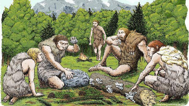 Los neandertales se automedicaban