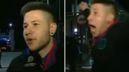 Abandonó al Barcelona y gritó el triunfo fuera del Camp Nou