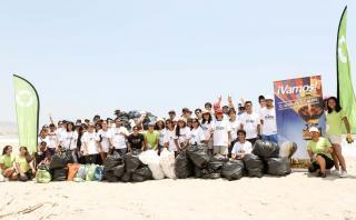 HAZla por tu playa y Vamos: Así limpiamos la playa Santa Rosa