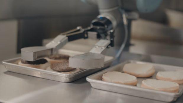 Flippy, el robot experto en preparar hamburguesas [VIDEO]