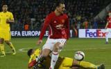Manchester United igualó 1-1 ante Rostov por la Europa League