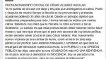 César Álvarez dice que acusación de fiscalía es cortina de humo - Noticias de crimen de ezequiel nolasco