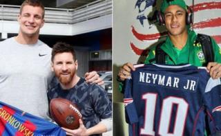 Los Patriots felicitaron a Barcelona por su histórica remontada