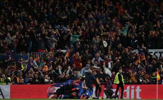 Remontada del FC Barcelona causó un pequeño terremoto
