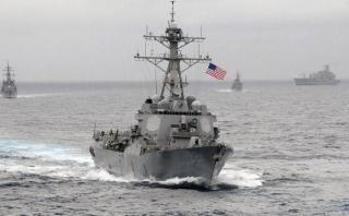 EE.UU. y Japón realizaron maniobras navales en el mar de China
