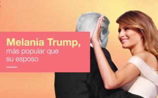 Melania Trump es más popular que su marido en EE.UU. [VIDEO]