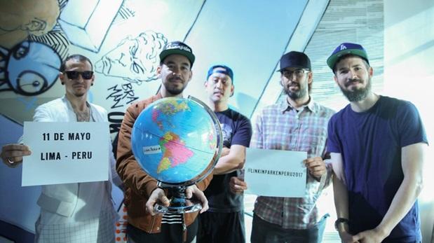 Linkin Park cancela concierto en Perú por falta de garantias