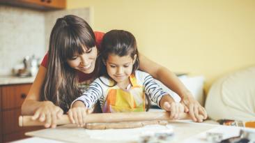 3 recetas fáciles para cocinar con tus hijos
